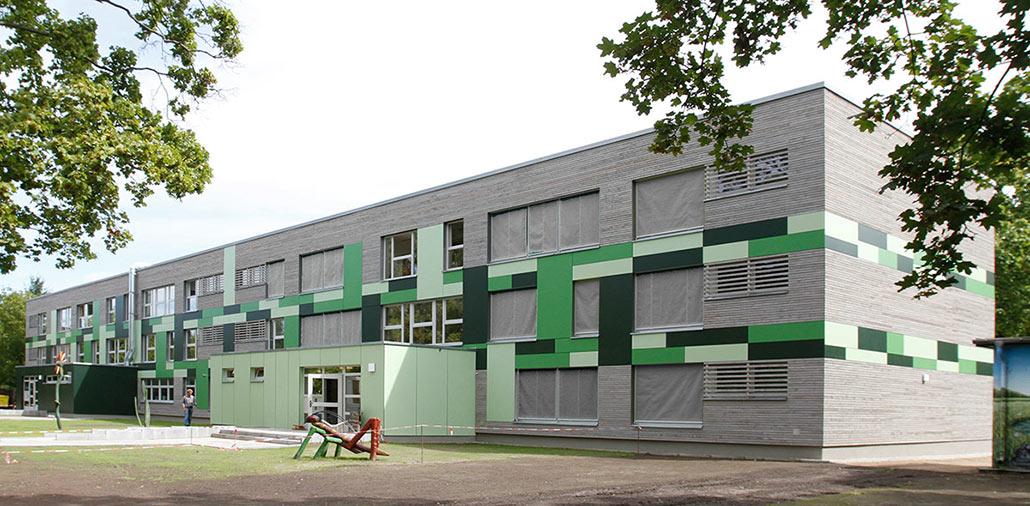 Energetische Fassadensanierung KiTa Grashüpfer