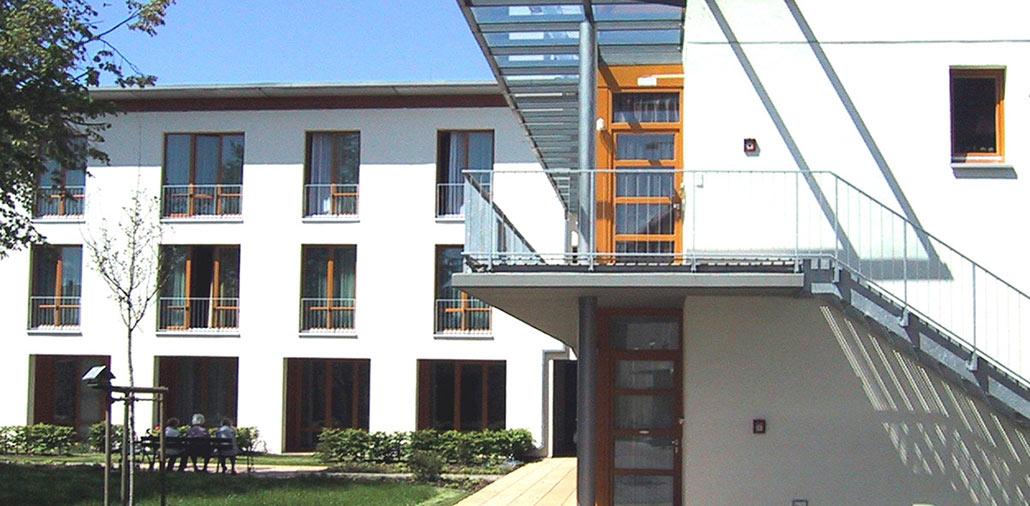 Neubau Seniorenzentrum in Guben, Gartenwohnungen