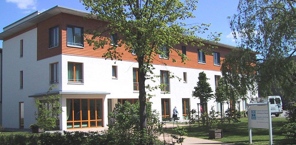 Neubau Seniorenzentrum in Guben, Südansicht