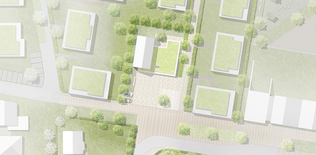 Lageplan Gemeindezentrum Hasloh