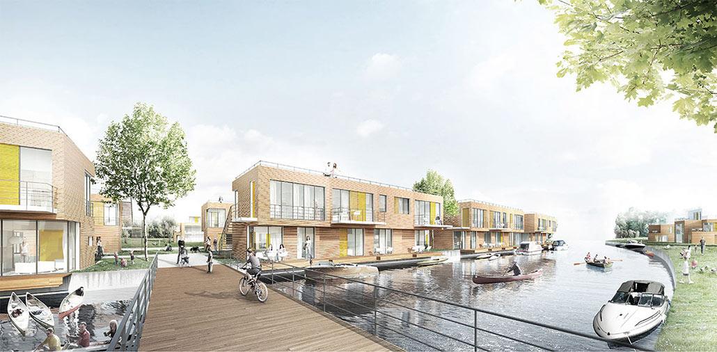 Ferienhausquartier Liebenwalde am Vosskanal: Seebrücke