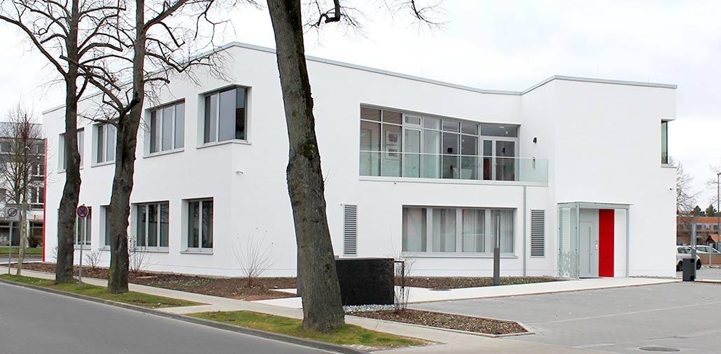Sparkasse Göttingen: Rückansicht