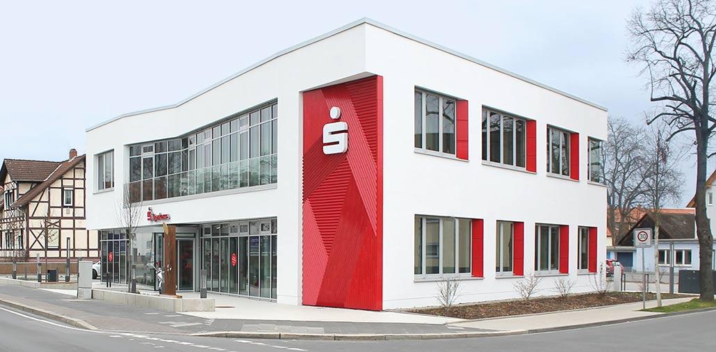 Sparkasse Göttingen: Vorderansicht