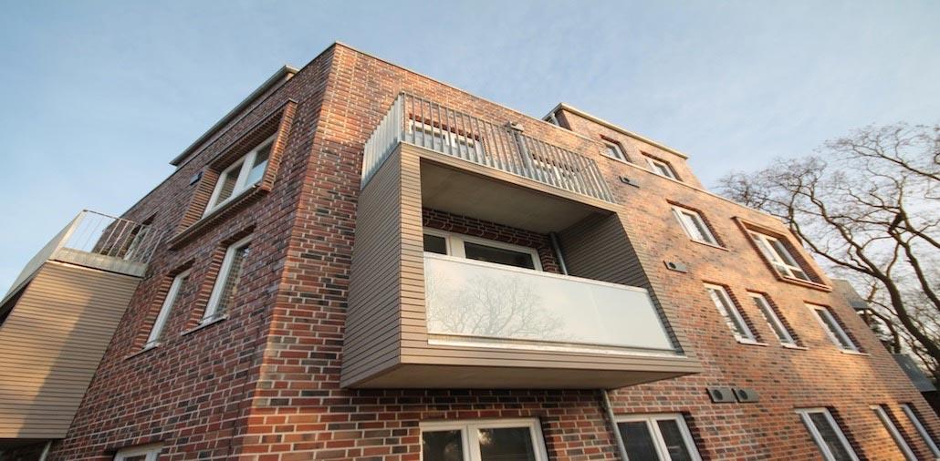 Wohnhaus Langenhorn Balkone Mmst Architekten