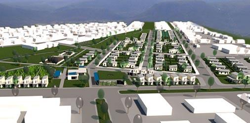 Stadtplanerisches Konzept für Graaff Reinet, Stadtteil Kroovale