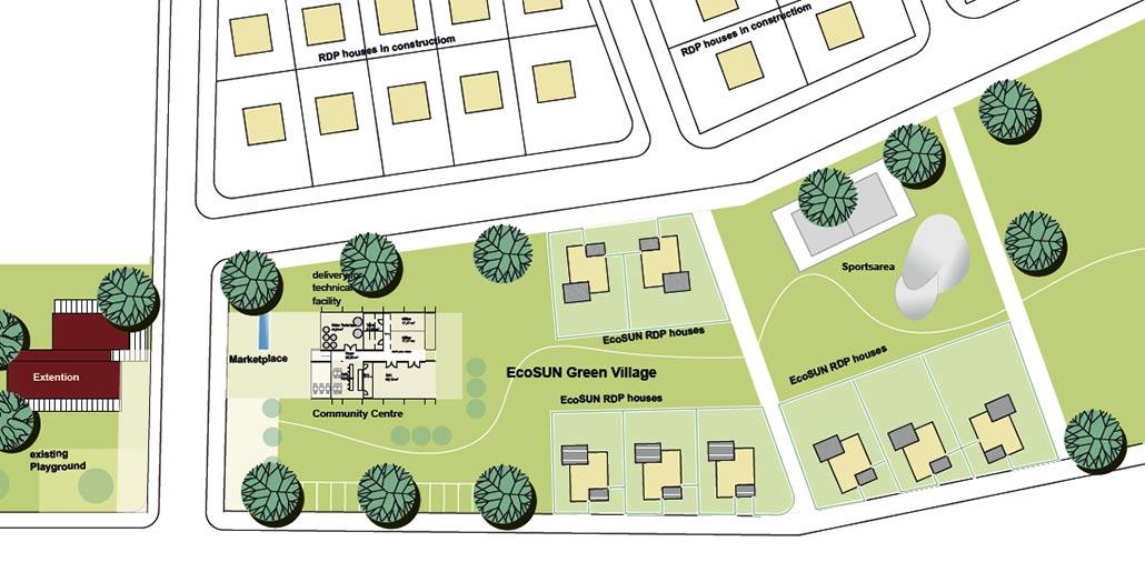 Lageplan GREEN VILLAGE