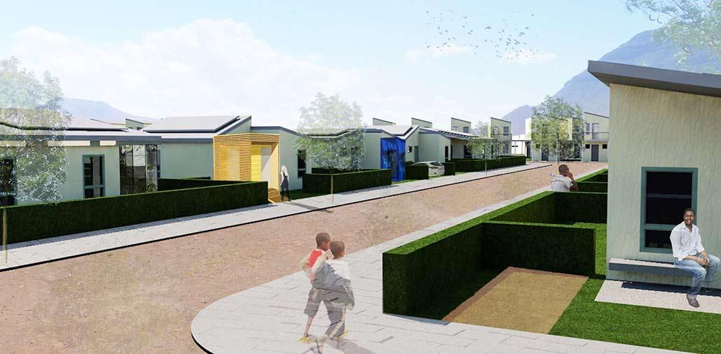 Modell der Häuser nach RDP-Standard