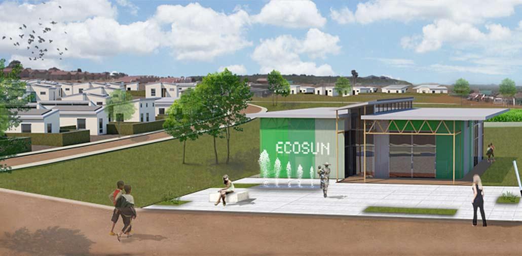 Ansicht EcoSUN Community Center