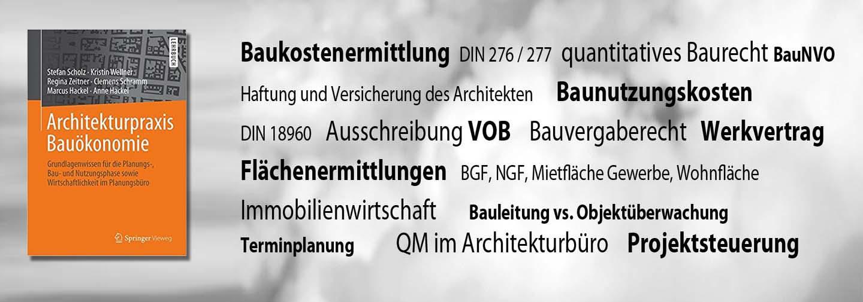 Buch Architekturpraxis Bauökonomie 2017
