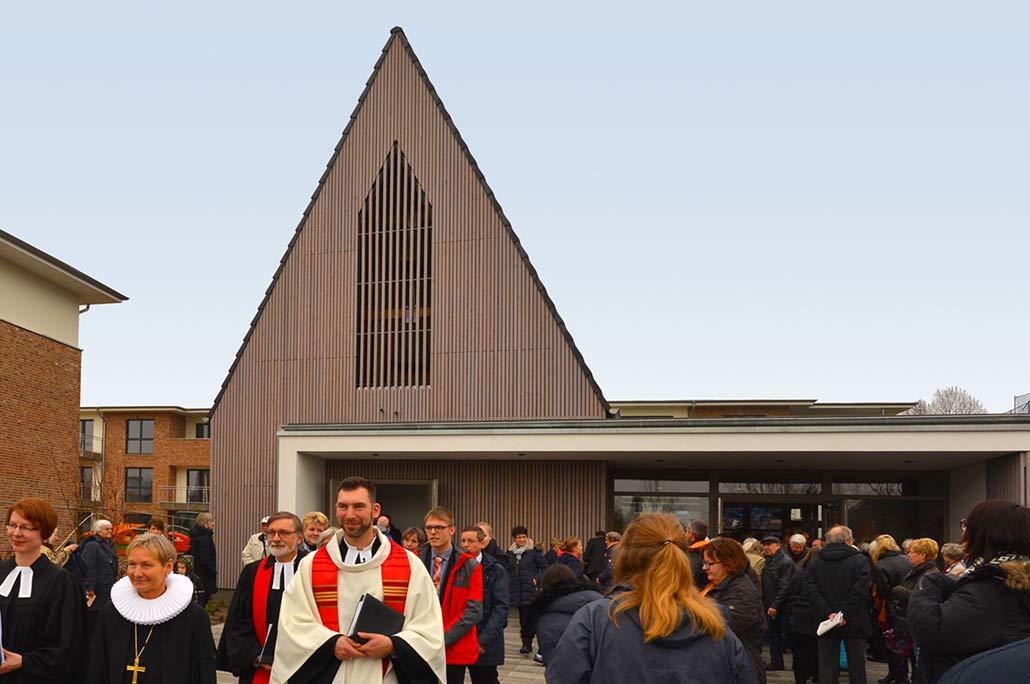 Kirchenweihe in Hasloh