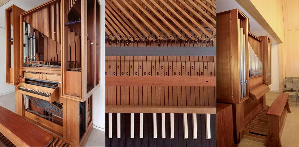 Fertigstellung der Orgel in der Hasloher Kirche