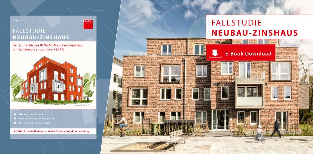 Mehrfamilienhaus Architekturbüro - E-Book Wirtschaftliches Neubau-Zinshaus Hamburg-Langenhorn