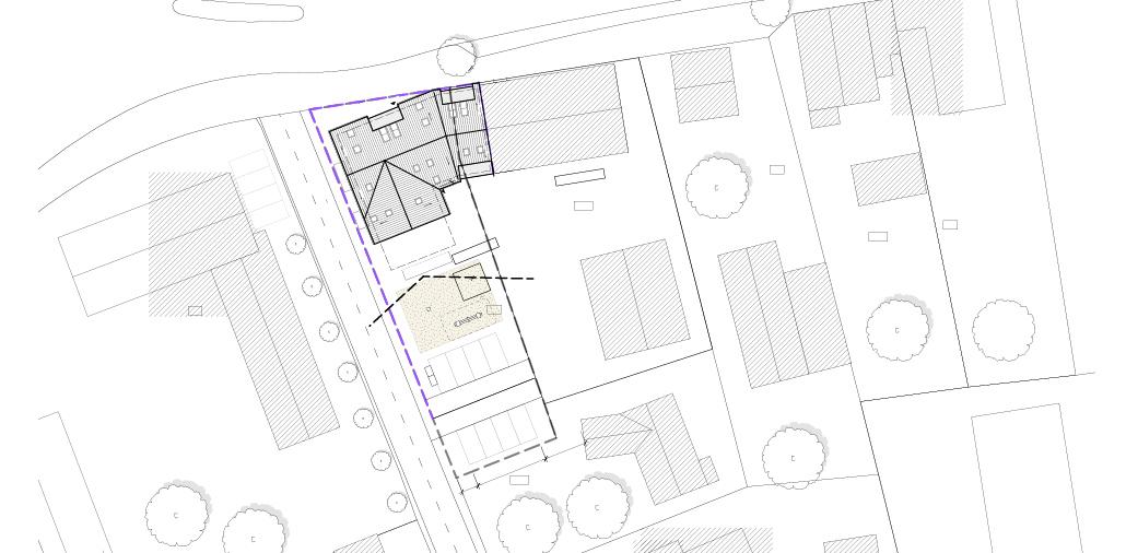 Neubau Mehrfamilienhaus in Hamburg Sasel: Lageplan