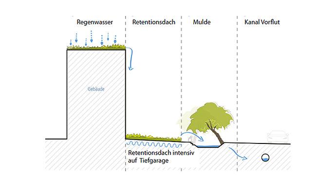 Entwässerungskonzept für die Stadtgärten Stellingen