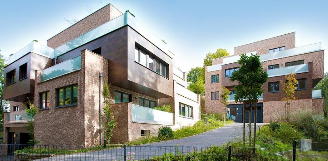 Terrassenhäuser in Hamburg Eissendorf, Gesamtansicht