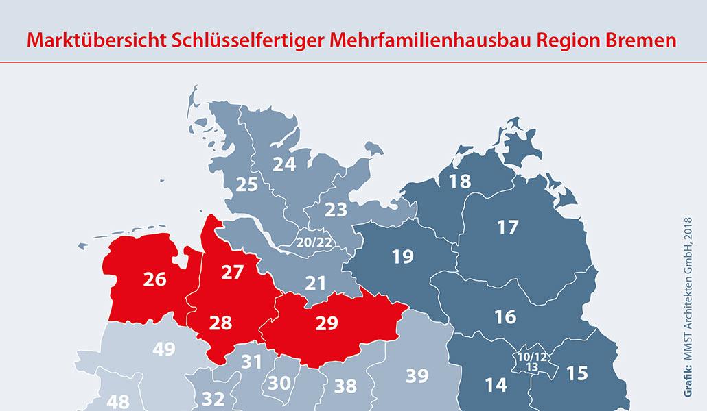 Bauunternehmen Region Bremen Mehrfamilienhaus