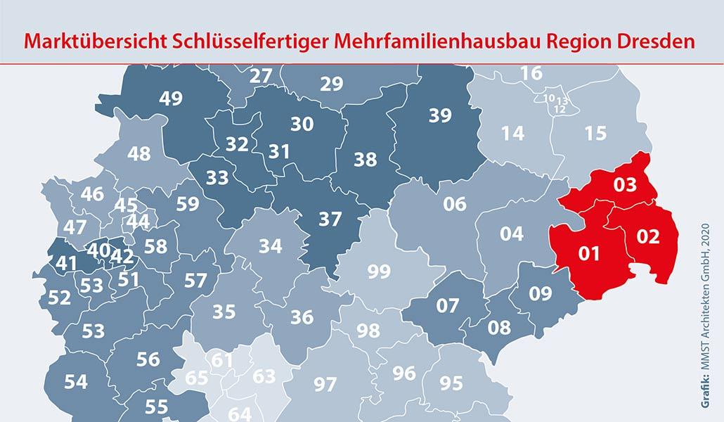 Bauunternehmen Region Dresden Mehrfamilienhaus