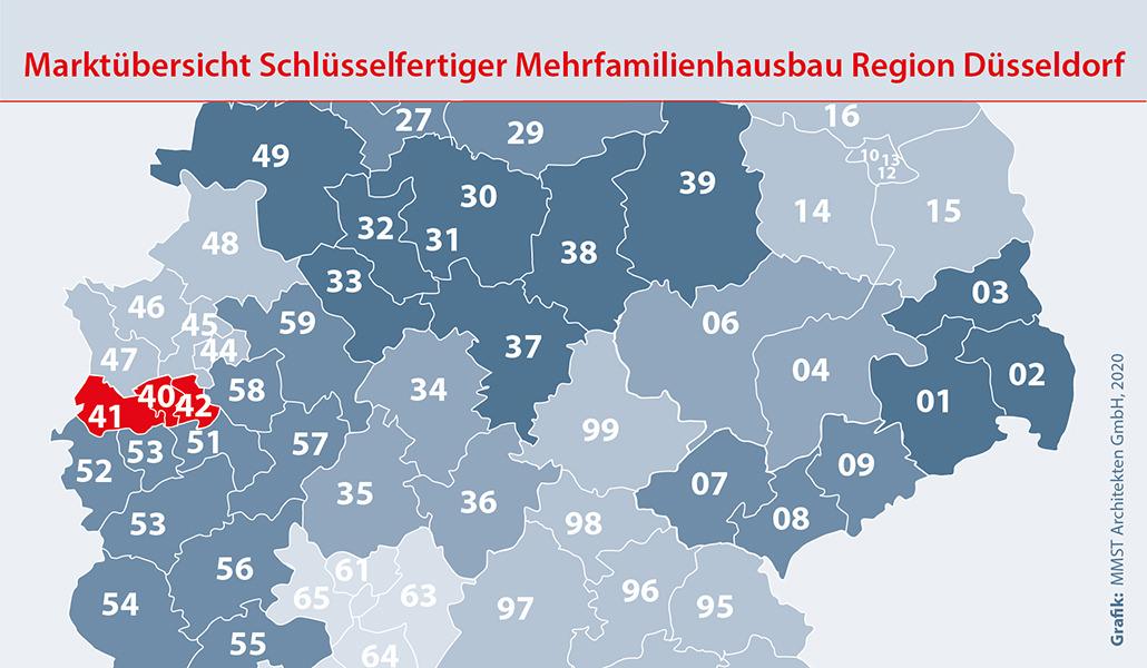 Bauunternehmen Region Düsseldorf Mehrfamilienhaus