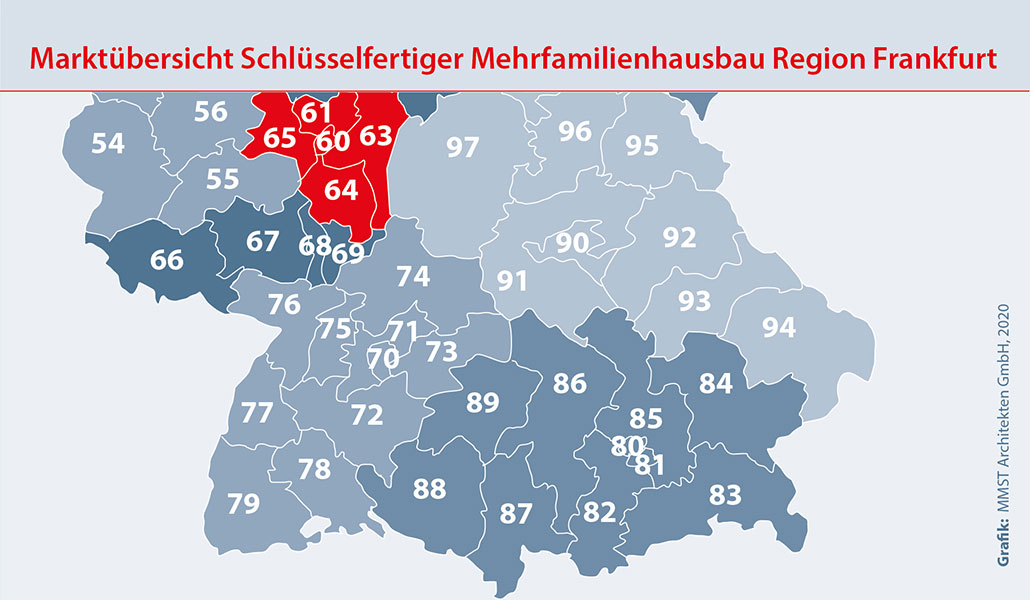 Bauunternehmen Region Frankfurt am Main Mehrfamilienhaus