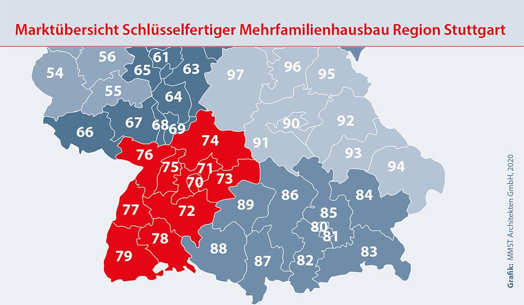 Bauunternehmen Region Stuttgart Freiburg – Mehrfamilienhaus