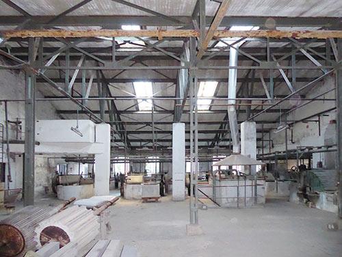 Bestandsfoto Holländer, Papierfabrik Hohenofen