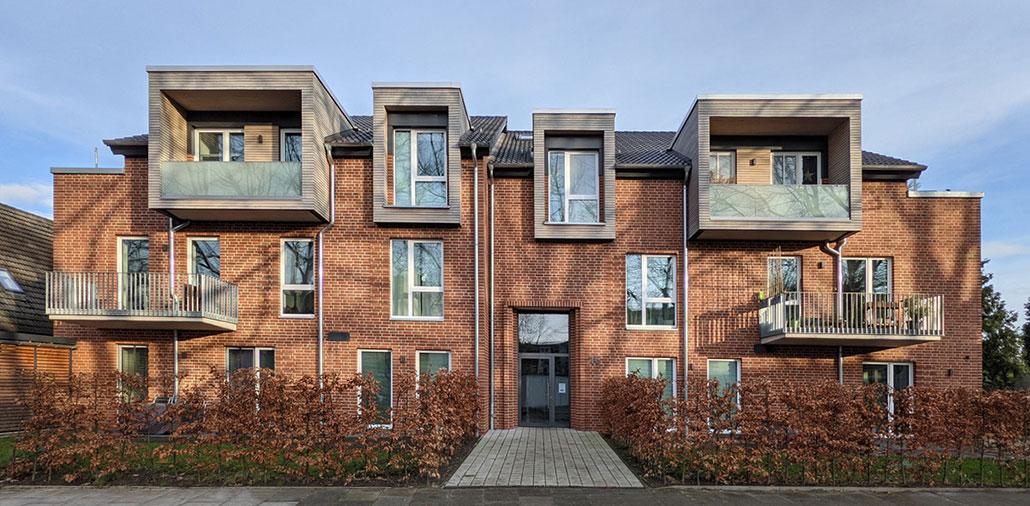 Mehrfamilienhaus Architekturbüro - Wirtschaftliches Neubau-Zinshaus Hamburg